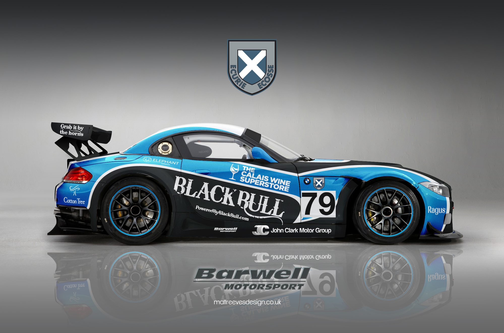 Barwell Motorsport Ecurie Ecosse Guns For British Gt