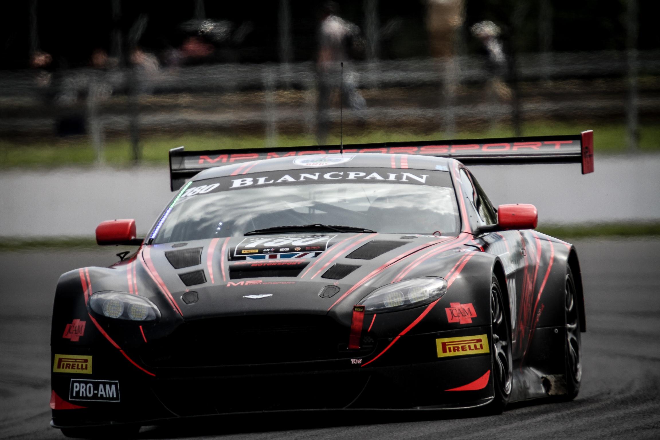 Aston Martin V12 Vantage Gt3 Barwell To Contest Barcelona 24 Hours
