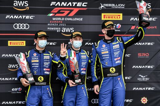 GT World Challenge podium run continues at Monza season opener