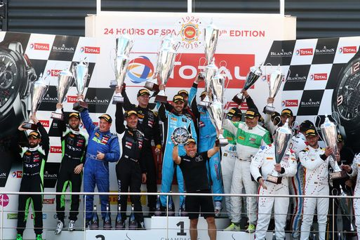Victory & double-podium for Barwell Lambos in superb Spa 24H