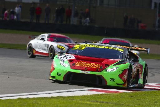 Barwell end British GT season on a high with win for Minshaw/Keen