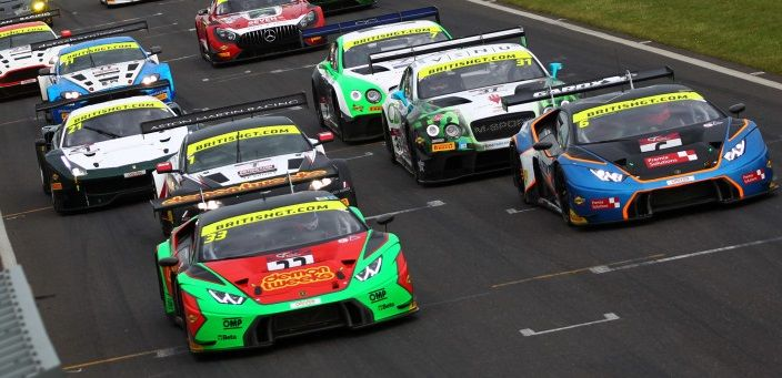Triple podium appearance by Barwell Motorsport at Snetterton BGT encounter