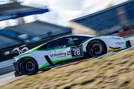 More points for Barwell in the Blancpain Endurance Cup Nurburgring Finale