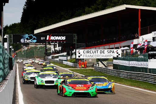 Barwell maintains 50% win rate in BGT with victory No.4 at Spa