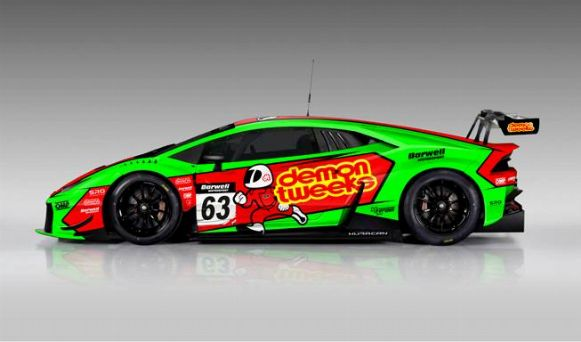 barwell motorsport minshaw keen to contest 2016 british gt in barwell lamborghini huracan gt3. Black Bedroom Furniture Sets. Home Design Ideas